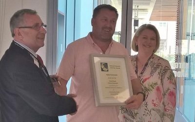 Conwy Pubwatch Chairman receives Star Award Sponsored by Licensing Defence Barristers