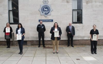 National Pubwatch Star Awards for Hertfordshire Police Staff
